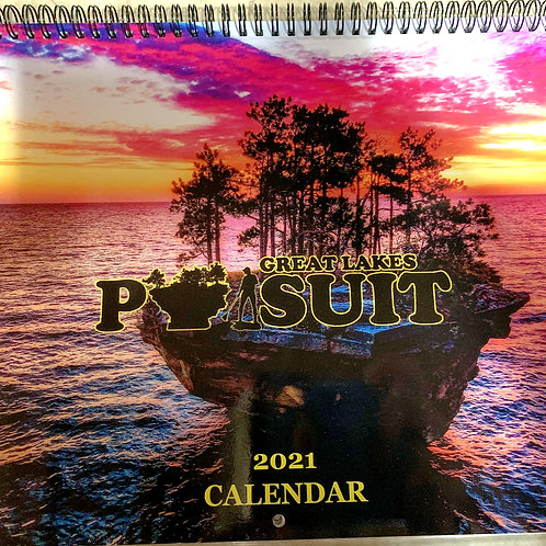 Great Lakes Pursuit 2021 Premium Wall Calendar 13 X 10