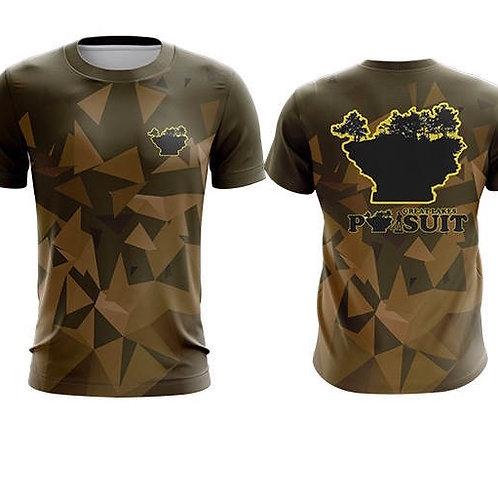 Great Lakes Pursuit Camo Short Sleeve Athletic Shirt