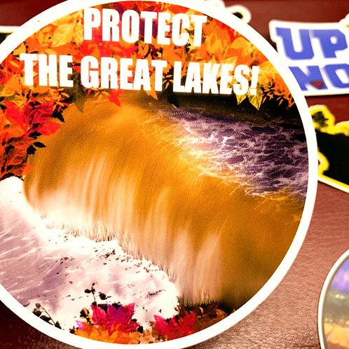 Great Lakes Pursuit Tahquamenon Falls Sticker