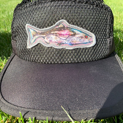 GREAT LAKES PURSUIT Technical Endurance Mesh Hat- Fish Edition