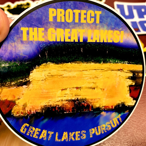 Great Lakes Pursuit Pictured Rocks Sticker