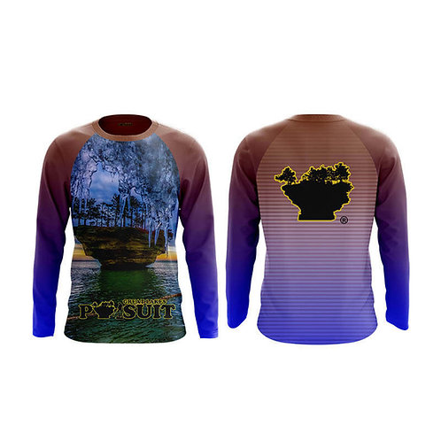 Great Lakes Pursuit Iced Runner Long Sleeve Athletic Shirt