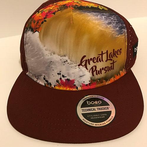 Great Lakes Pursuit Tahquamenon Falls Foliage Running Trucker by Boco Gear