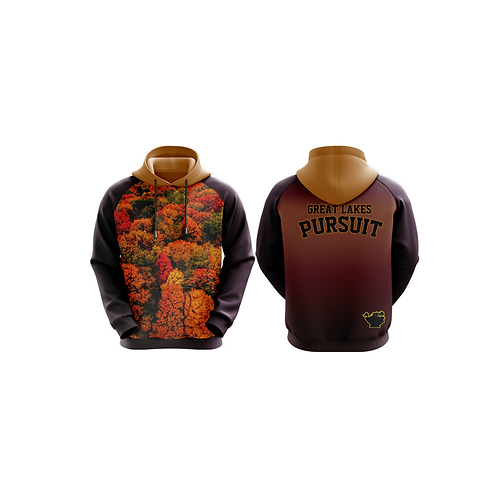 """Great Lakes Pursuit """"Fall Colors"""" Hoodie"""