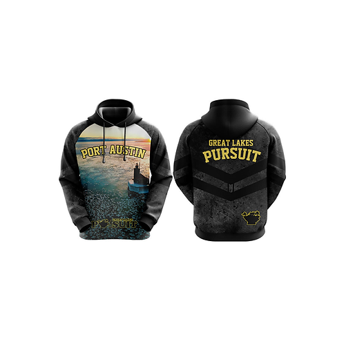 Great Lakes Pursuit Port Austin Reef Lighthouse Hoodie