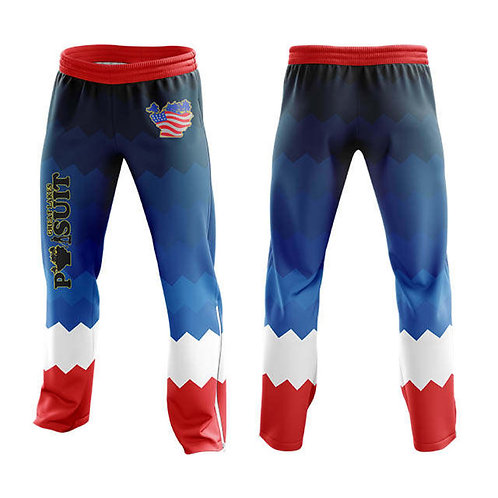 Great Lakes Pursuit Stars and Stripes Athletic Pants