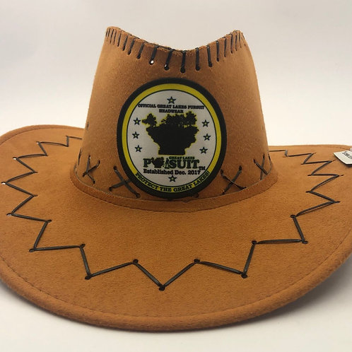 Great Lakes Pursuit Suede Cowboy Hat