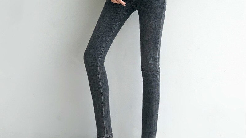 TwiggyBean High Waist Tall & Long  Denim Pencil Pants