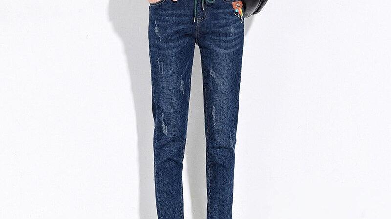 TwiggyBean  Boyfriend Mom loose  Denim Jeans