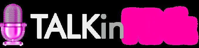TALKinPINK Podcast Logo wording trans.pn