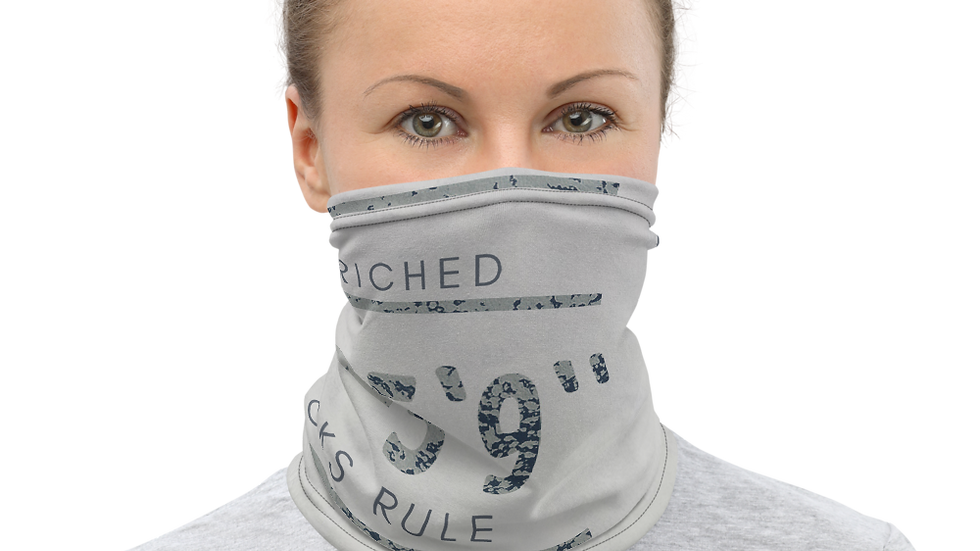 Height enriched Neck Gaiter & Face Mask