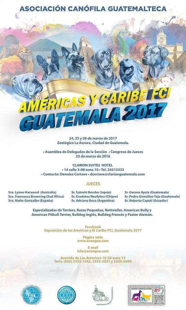Americas y el Carbe FCI Guatemala 2017