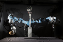 Efficient Human-like Dexterous Grasping under Uncertainty for Robotics