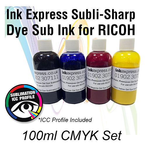 Sublimation Ink for RICOH Printers