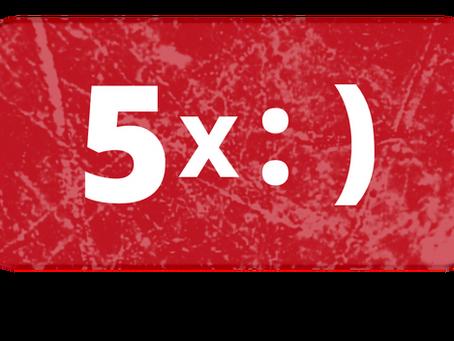 5 דרכים להעלות חיוך על הפנים ברגע