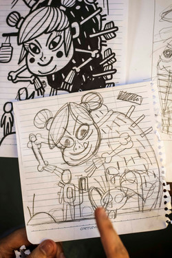 Cycy and Nollzz' sketch