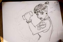 Mia's sketch