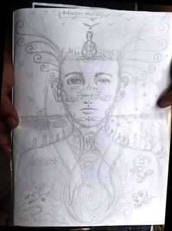 Arjun's sketch