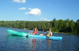 Duck Harbor Lake is a 200 acre lake for fishing, kayaking and motor boating