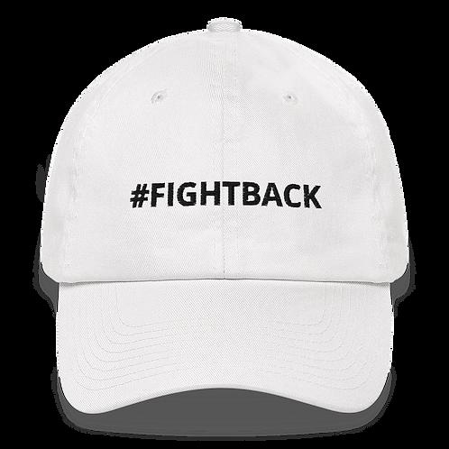 #FIGHTBACK Classic baseball cap