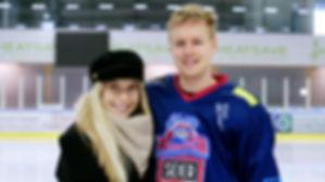 LÄTKÄ LOVE: Alina Voronkova ja Joonas Hu