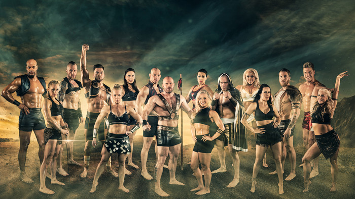 Klassikkosarja Gladiaattorit palaa televisioon – luvassa täysin uudistunut koko perheen viihdeshow!