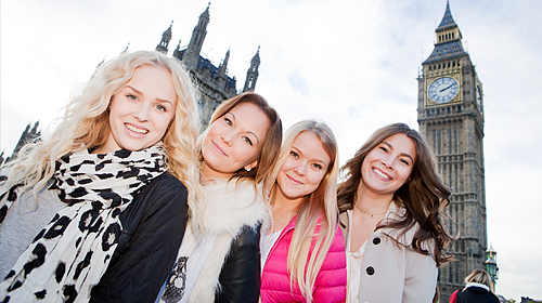 The Au-Pairs in London
