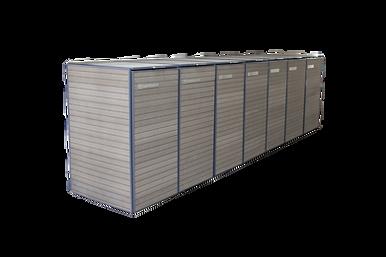 installazione da 7 Bio-Box ingresso cortile condominiale