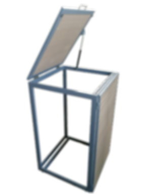 Bio-Box modulo porta carrellato