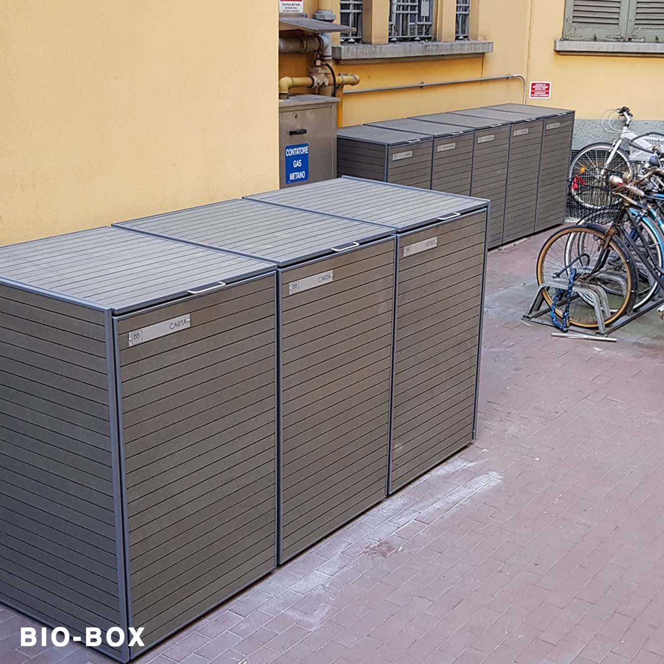 Box Per Bidoni Spazzatura gallery bio-box copri bidoni per le aree rifiuti