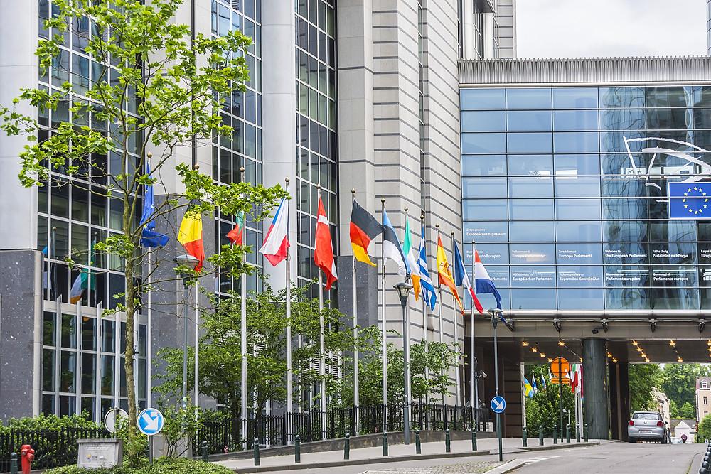 Parlement européen, Rue Wiertz, Bruxelles