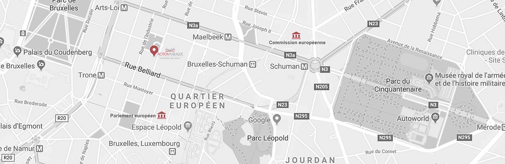 Action Publique au cœur du quartier européen