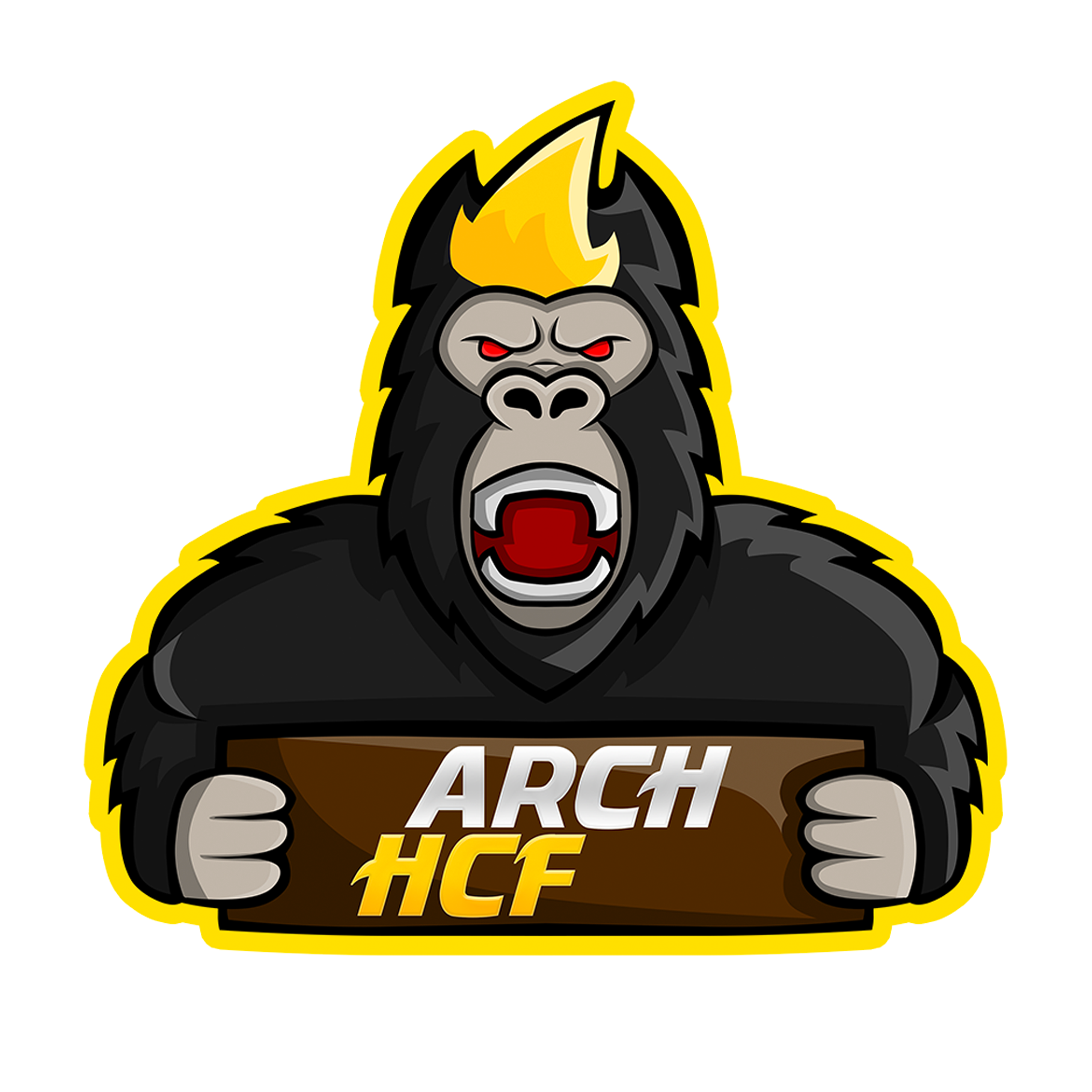 Arch HCF Yellow Outline
