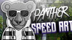 Panther Speed Art