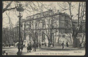 lycée Thiers Marseille - Pont des arts
