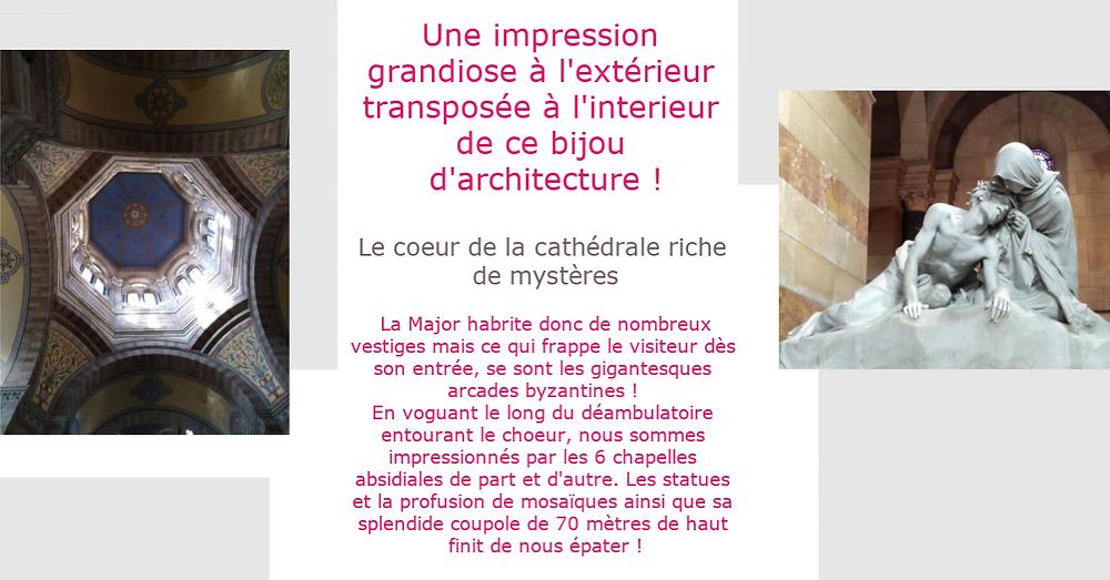 Cathédrale Major Marseille histoire Pont des arts