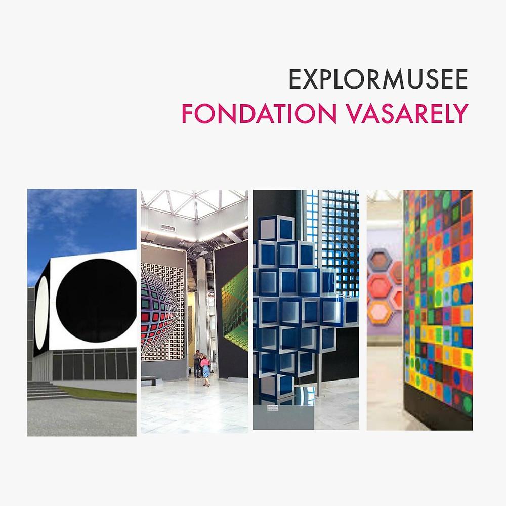 explormusee Fondation Vasarely - Pont des arts