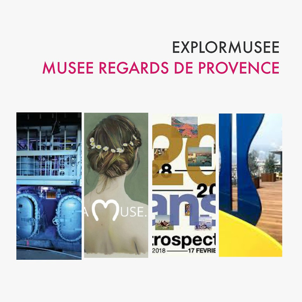 explormusee Regards de Provence - Pont des arts