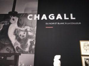 Chagall Pont des arts Caumont visite
