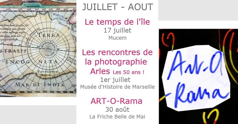 expo Pont des arts Marseille PACA 2019