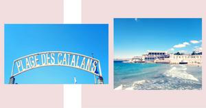 Les catalans bord de mer Marseille