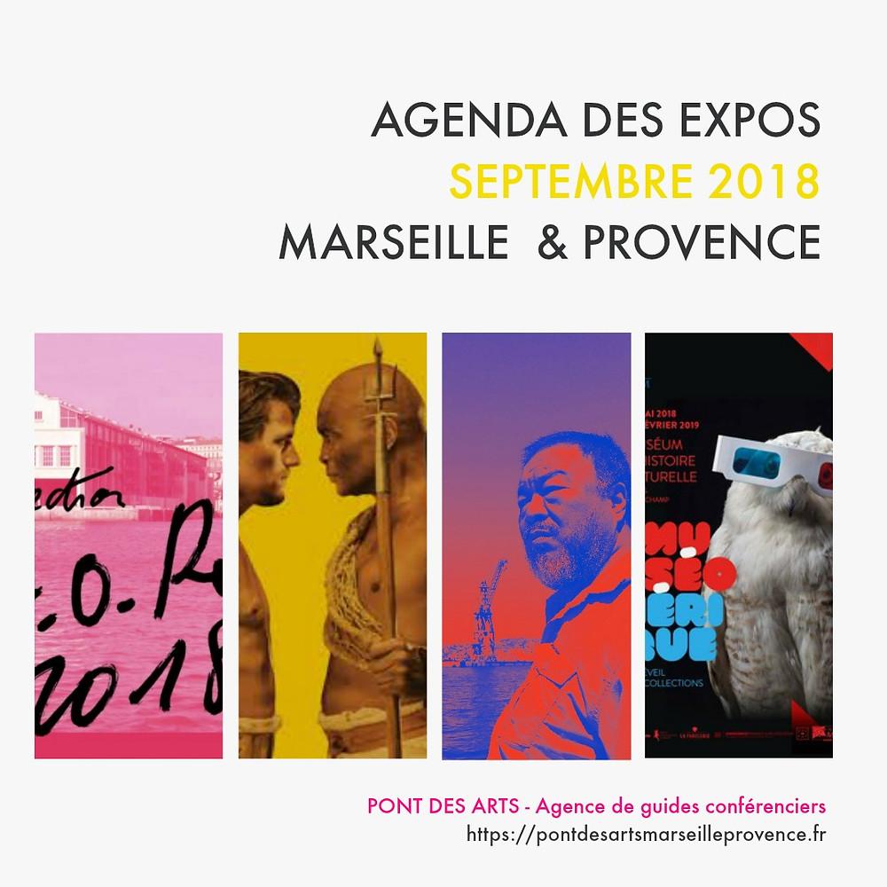 Agenda culturel septembre 2018 - Pont des arts