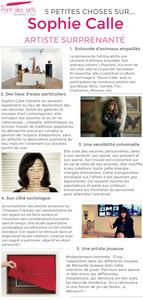 Sophie Calle Marseille Pont des arts exposition