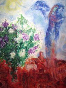 Chagall Pont des arts visite Caumont