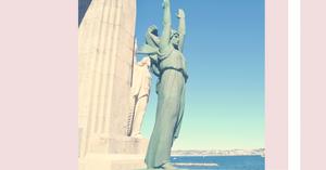 Monument aux morts Porte d'Orient Marseille