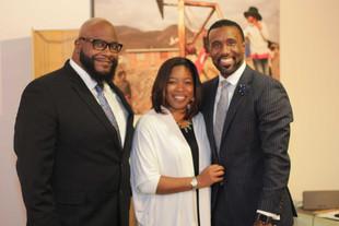 Marcus, Omeka & Dr. Robert Brown, III
