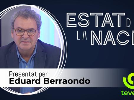 Eduard Berraondo torna a la televisió de la mà de l'Assemblea
