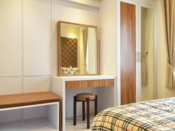21st floor - bedroom (view 1)