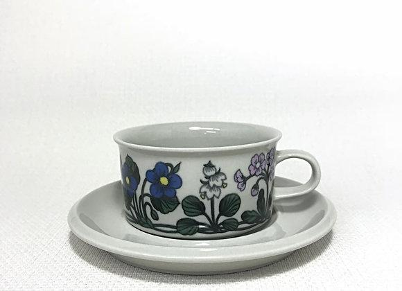 ARABIA アラビア Flora フローラ ティーカップ&ソーサー