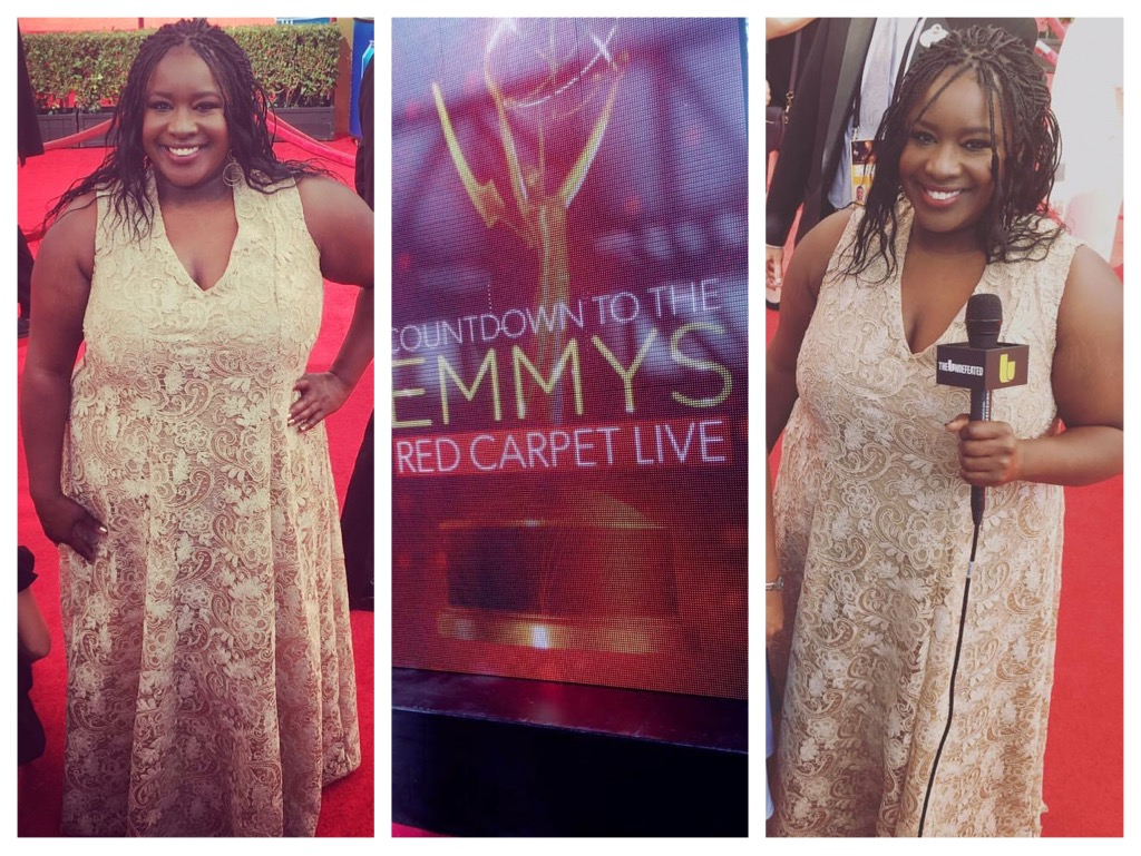 Kelly Carter at Emmy's